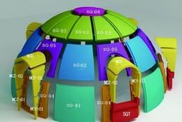 造型各异的圆顶屋到底有多少户型?(下)